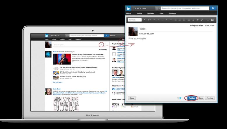 LinkedIn publicatieplatform Pulse