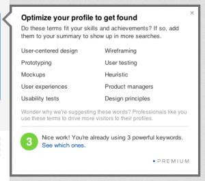 LinkedIn trefwoorden optimalisatie