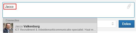 LinkedIn Update Jacco