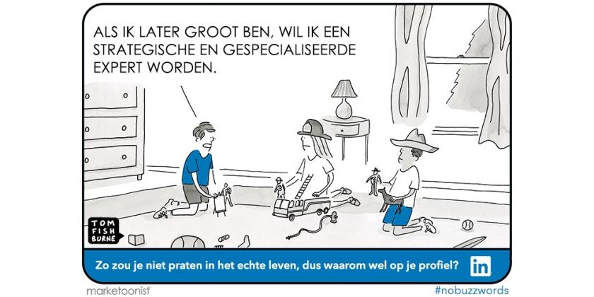 LinkedIn buzzwords NL